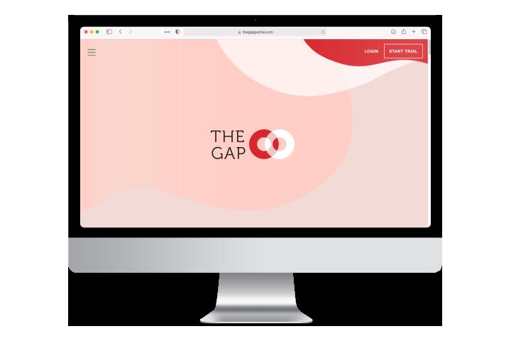 The Gap website